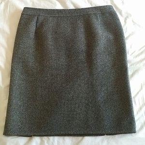 CHRISTIAN DIOR - tweed skirt